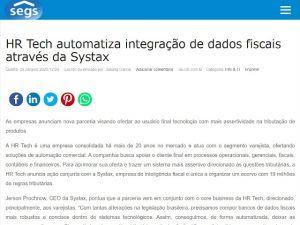 HR Tech automatiza integração de dados fiscais através da Systax