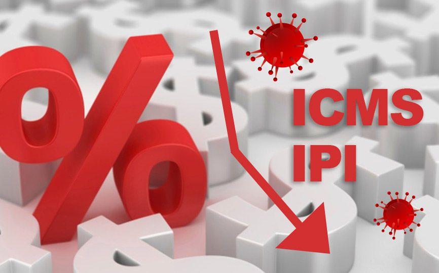 Coronavirus - ICMS - IPI