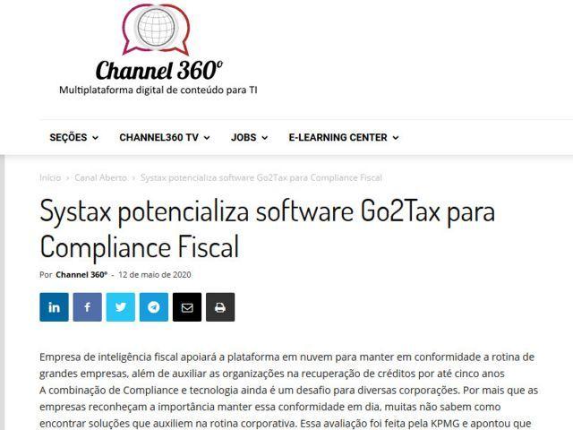 Systax potencializa software Go2Tax para Compliance Fiscal