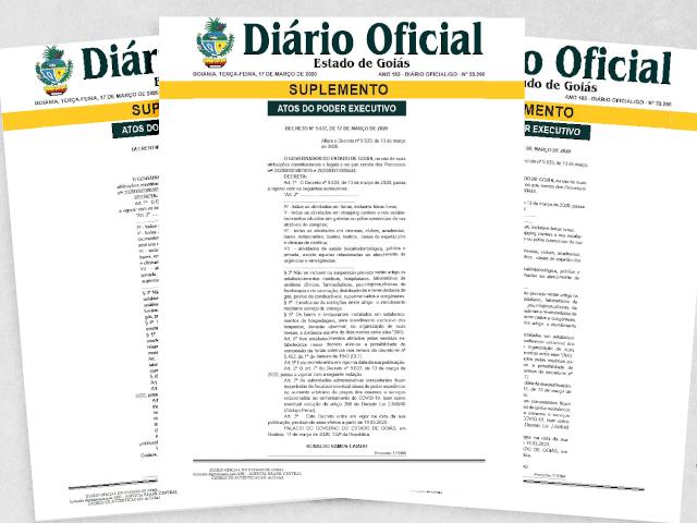 ICMS/GO - Decreto nº 9.667/20