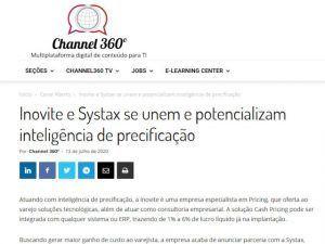 Inovite e Systax se unem e potencializam inteligência de precificação