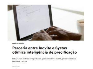 Parceria entre Inovite e Systax otimiza inteligência de precificação