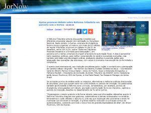 Systax promove debate sobre Reforma Tributária em parceria com a Vertex