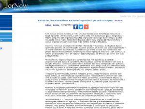 Farmácias FTB automatizam Parametrização Fiscal por meio da Systax