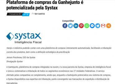 Plataforma de compras da Ganhejunto é potencializada pela Systax