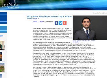 BRX e Systax potencializam oferta do Oracle Retail no Brasil