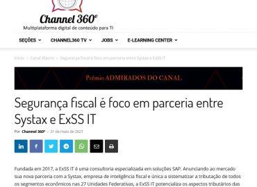 Segurança fiscal é foco em parceria entre Systax e ExSS IT