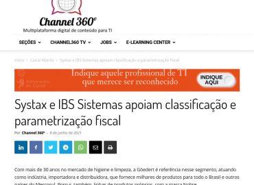 Systax e IBS Sistemas apoiam classificação e parametrização fiscal