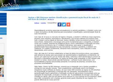 Systax e IBS Sistemas apoiam classificação e parametrização fiscal de mais de 5 mil itens da Göedert