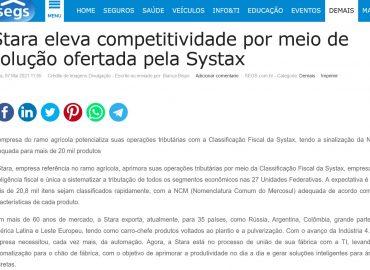 Stara eleva competitividade por meio de solução ofertada pela Systax