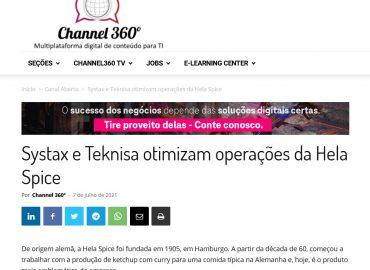 Systax e Teknisa otimizam operações da Hela Spice